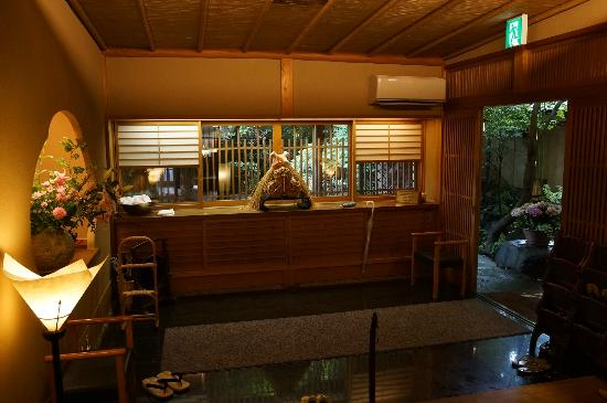 Toshinan Komeya: 玄関です