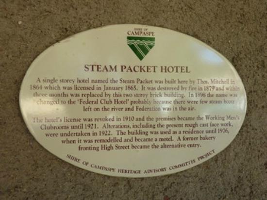 Steampacket Inn: History of the Inn