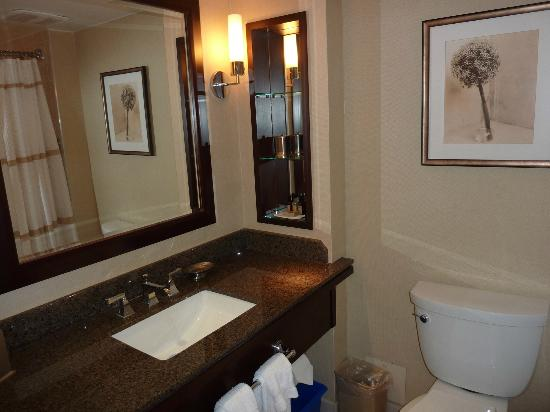 Toronto Marriott Bloor Yorkville Hotel: Decent sized bathroom