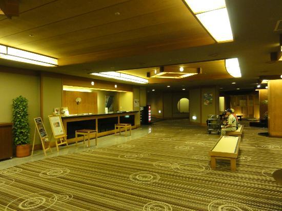 Tokachigawaonsen Daiichi Hotel: 広々としたロビー