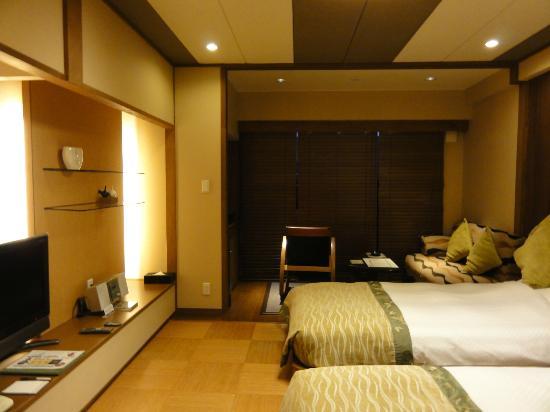 Tokachigawaonsen Daiichi Hotel: 落ち着いたインテリア、音楽CDも用意されていた