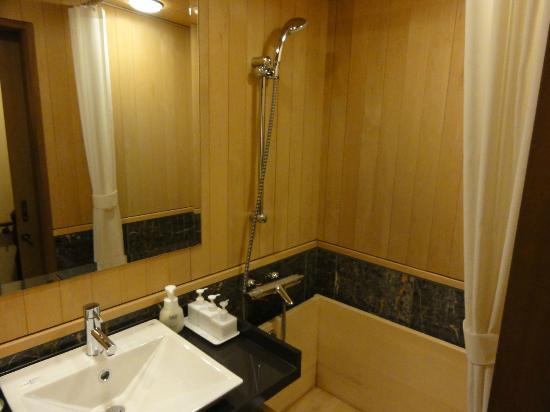 Tokachigawaonsen Daiichi Hotel: 部屋風呂はヒノキ風呂