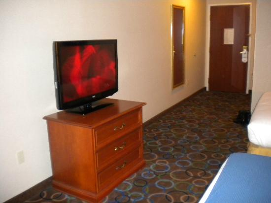 Holiday Inn Express Hotel & Suites Manchester Airport: Room TV/Interior