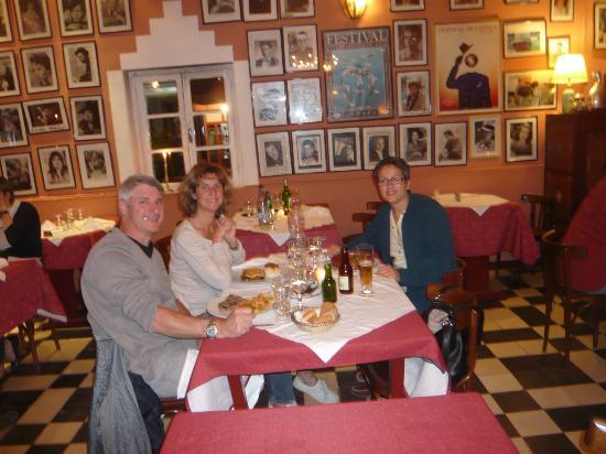 Restaurant Chez Dimitri : Salle du restaurant