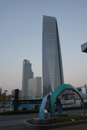 Orakai Songdo Park Hotel: View toward convention center