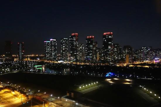 Orakai Songdo Park Hotel: Night view