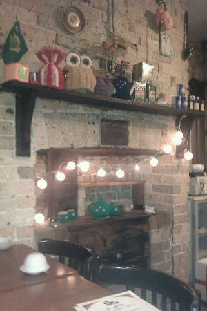 Inside the Tea Cosy - so cute!
