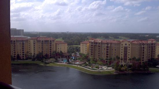 ويندام بونيت كريك ريزورت: View from balcony 