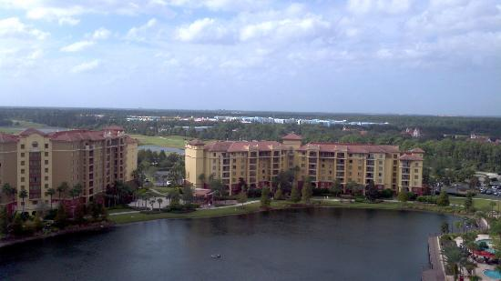 Wyndham Bonnet Creek Resort: View from balcony