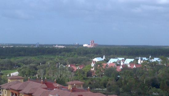 Wyndham Bonnet Creek Resort: Disney Hollywood Studios from balcony
