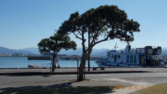 Nokonoshima Island : 船着場の風景