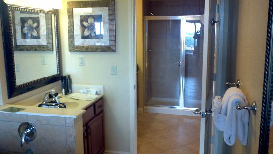 Wyndham Bonnet Creek Resort: Master bathroom