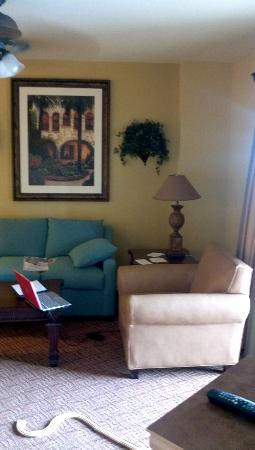 Wyndham Bonnet Creek Resort: Living room