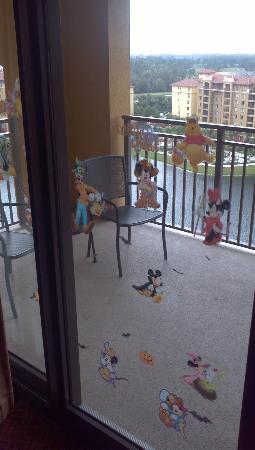 Wyndham Bonnet Creek Resort: balcony from inside suite