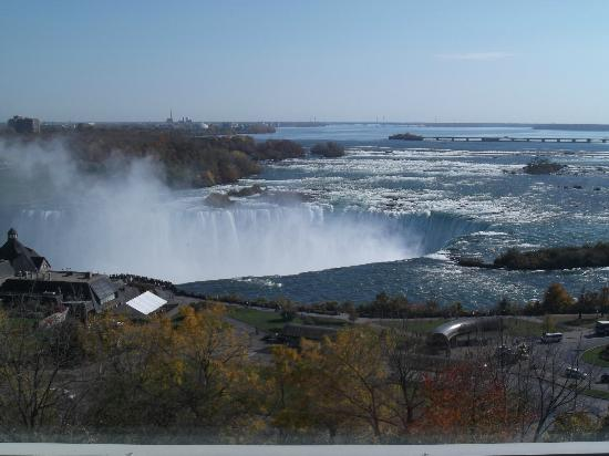 Niagara Falls Marriott Fallsview Hotel & Spa: View from hotel room