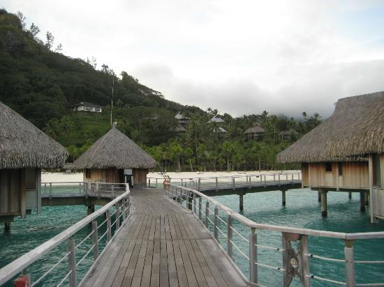 Hilton Bora Bora Nui Resort & Spa: Bungalows