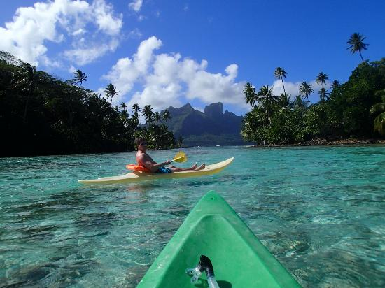 Hilton Bora Bora Nui Resort & Spa: Free Kayaking At Hotel