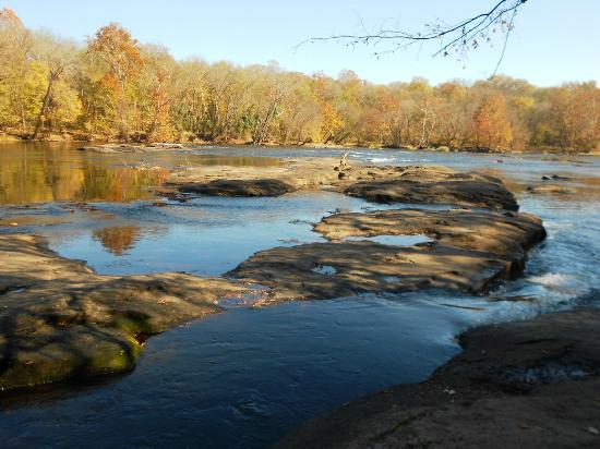 Fish traps picture of raven rock state park lillington for Fishing in raleigh nc