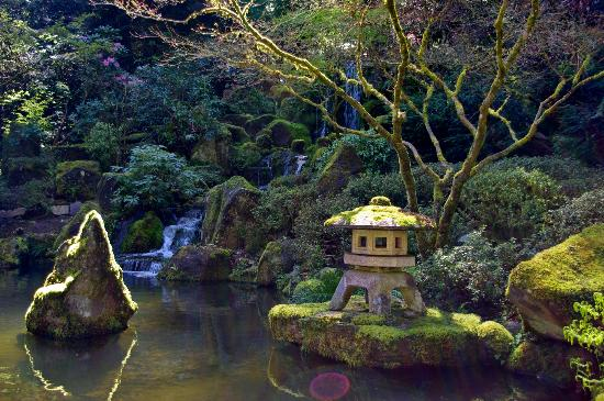 Aerial View Of 39 Sand And Stone Garden 39 Picture Of Portland Japanese Garden Portland Tripadvisor