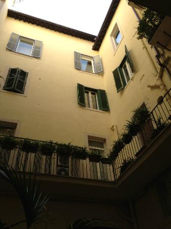 Hotel Navona- view from our room