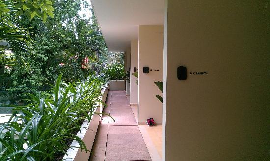 FCC Angkor: corridor