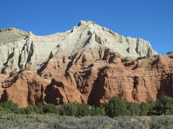 Kodachrome Basin State Park: The back drop to the campground