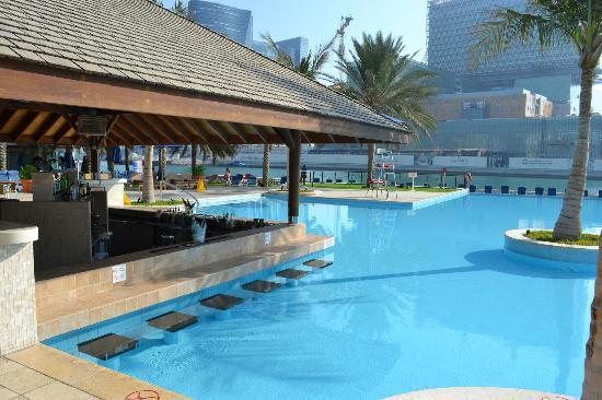 Beach Rotana Abu Dhabi Swim Up Bar
