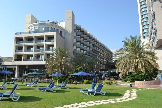 Beach Rotana Abu Dhabi View Of The Hotel From