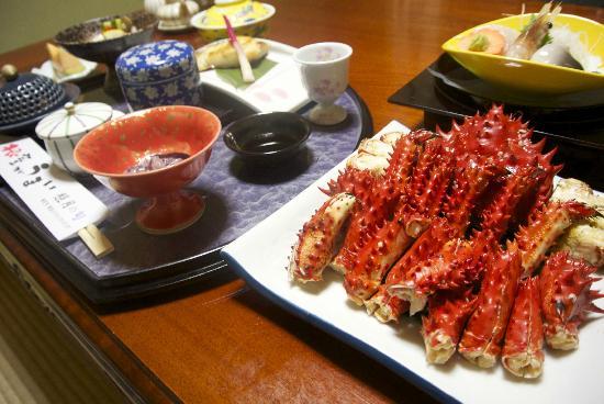 Shogetsu Ryokan: 食事