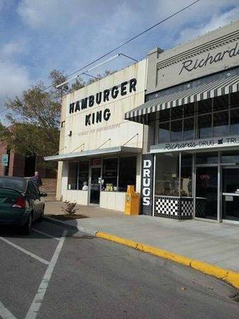 Hamburger King, old downtown Shawnee, OK.