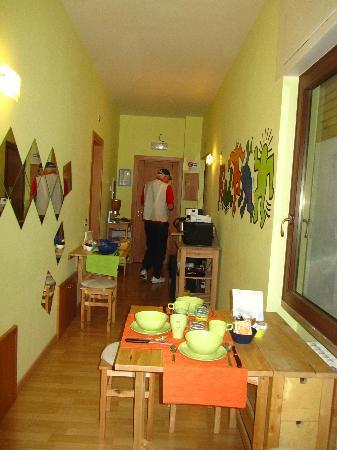 B&B A Casa di Nannali : breakfast area