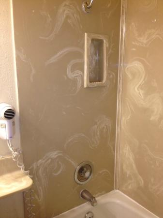 Rockview Inn and Suites - Morro Bay: Shower needs a little updating.