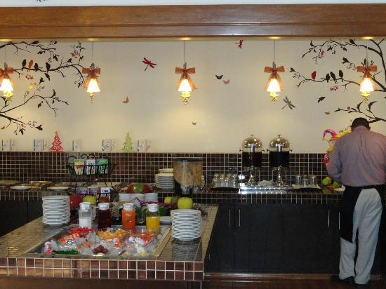 Matehuala, Mexico: Breakfast buffet