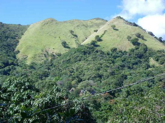 Cabanas El Rucio : The Central Mountain Range of Puerto Rico. In our property