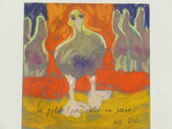 pastel de Marie MAZIERE - Photo de Chambres d\'Hotes Grain D ...
