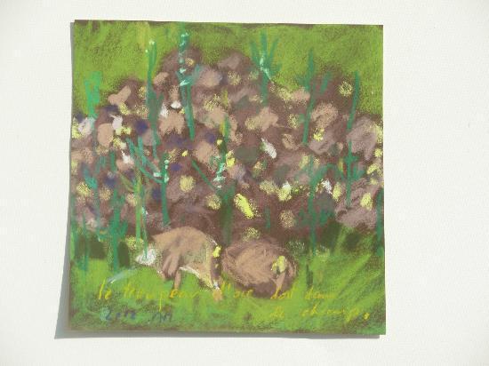 Chambres d'Hotes Grain D'Art : Pastel de Marie MAZIERE