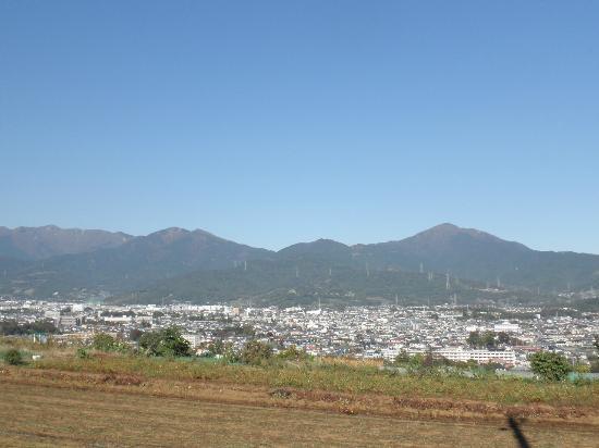 Mt. San no To : 渋沢丘陵から見た三の塔
