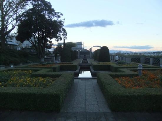 Taman Italia -Yamate: 洋風庭園03