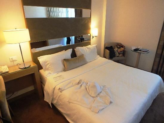 Galaxy Hotel Iraklio: Double Bed