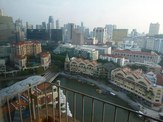 Novotel Singapore Clarke Quay : View from Room