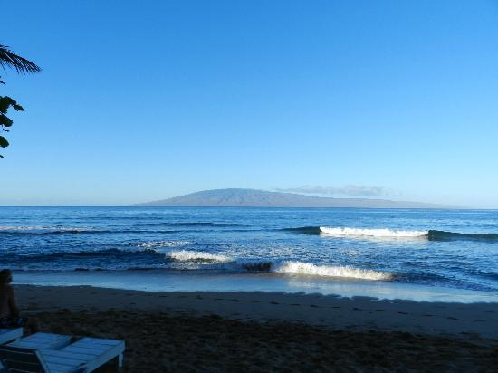 Marriott's Maui Ocean Club  - Lahaina & Napili Towers: View from on site restaurant