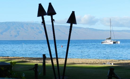 Marriott's Maui Ocean Club  - Lahaina & Napili Towers: View from restaurant