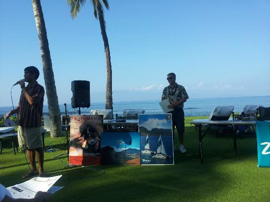 Marriott's Maui Ocean Club  - Lahaina & Napili Towers: Monday morning orientation/sales of tourist activities