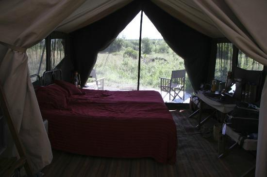 Serengeti Safari Camp, Nomad Tanzania: inside the tent