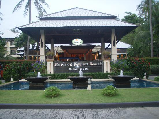 Horizon Karon Beach Resort & Spa: Hotel Entrance