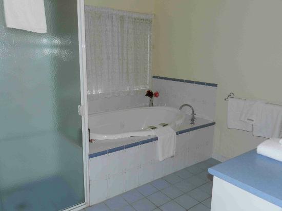 The Birches Luxury Spa Chalets: The Bathroom & Spa bath