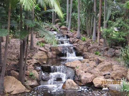 Rockhampton, Australia: waterfall at kershaw