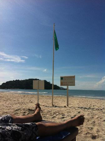 برجايا لانجكاوي ريزورت - ماليزيا: The beach 
