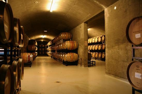 Burrowing Owl Estate Winery: Burrowing Owl Barrel Room