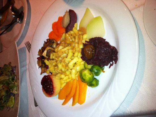 Restaurant Seebrise: Vegetable dish as delicious as it looks.